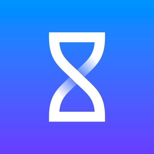 Timeglass timer & stopwatch