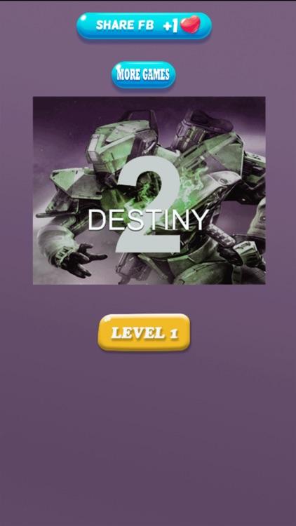 Quiz for Destiny 2