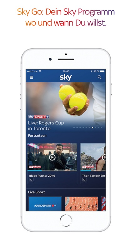 Sky Go screenshot-3