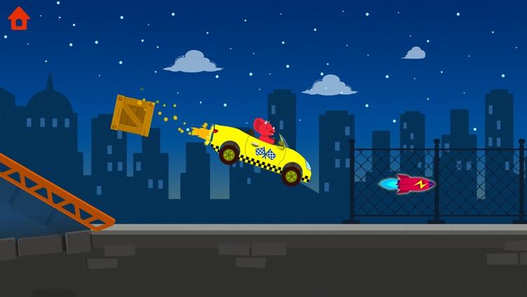 Dinosaur Car - Truck Games screenshot-3