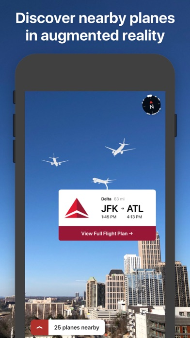 AR Planes - flight tracker Screenshots