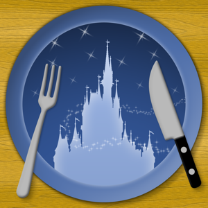 Dining at Disney World app