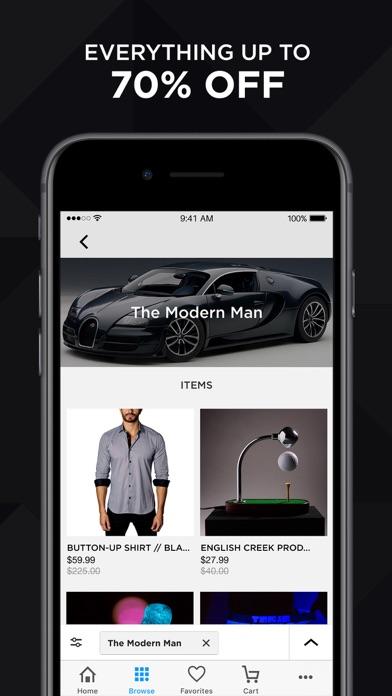 Touch Of Modern review screenshots