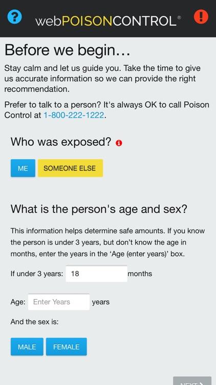 webPOISONCONTROL® Poison App