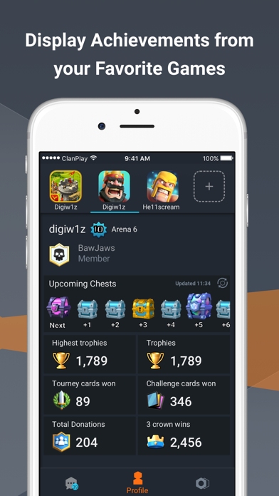 ClanPlay: Chat for Gamers screenshot two