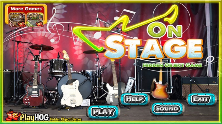 On Stage Hidden Objects Games screenshot-3