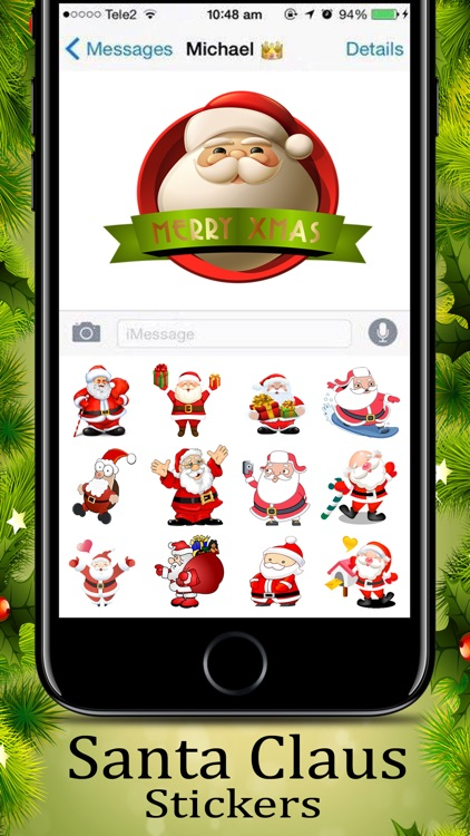 Santa Claus  Awesome Sticker screenshot-1