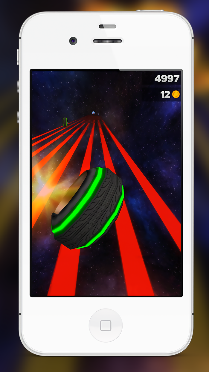 3D Neon Lights Retro Simulator Screenshot