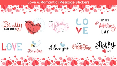 Screenshot for Best Romantic Love Sticker App in Estonia App Store