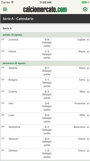 Calciomercato.com 2018 Screenshot
