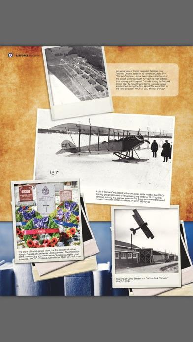 Revue Airforce Magazine screenshot three