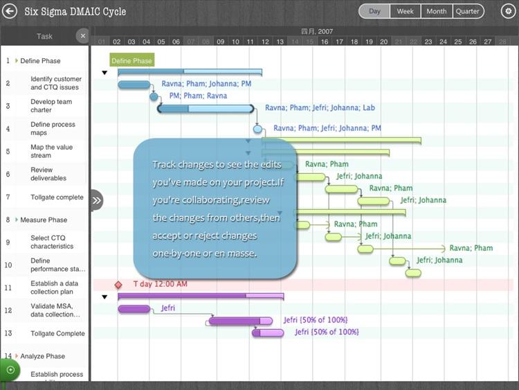 Project Gannt Pro screenshot-4