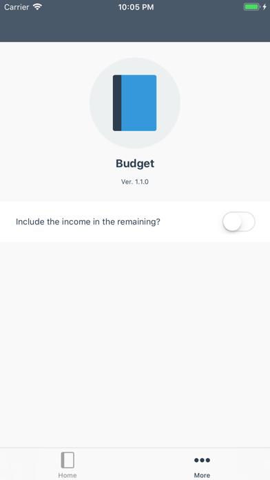 記帳 Budget屏幕截圖5