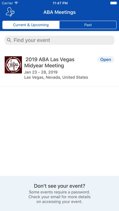 ABA Annual & Midyear Meetings-1