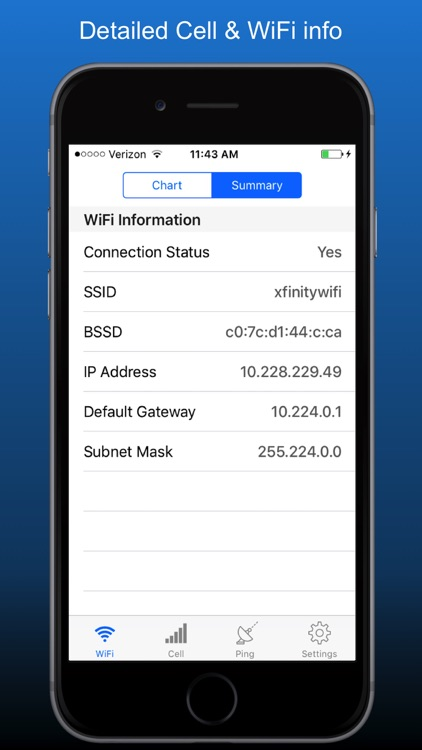 NetSignal - signal strength screenshot-4
