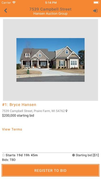 Hansen Auction Group screenshot-3