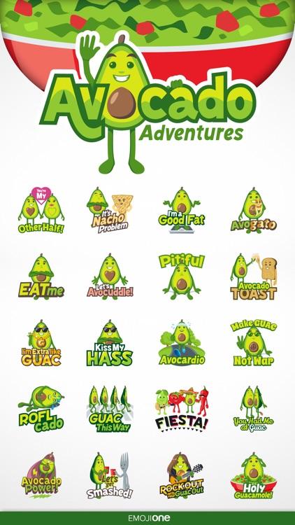 Avocado Adventures by EmojiOne