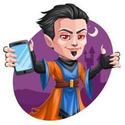 Wicked Wizard Stickers