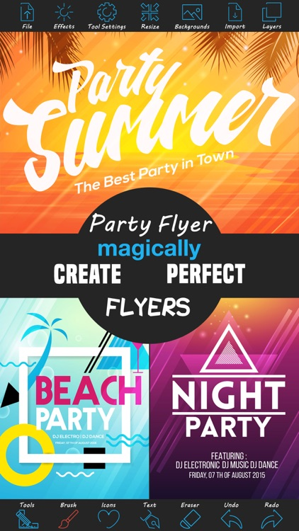 Party Flyer Creator screenshot-0