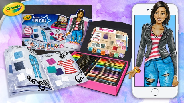 Crayola Fashion Superstar On The App Store