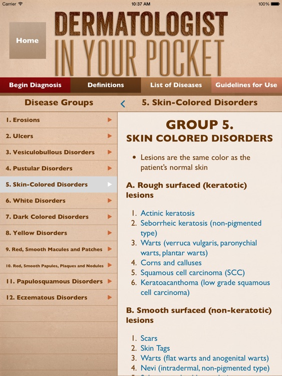 Dermatology In Your Pocket HD screenshot-3