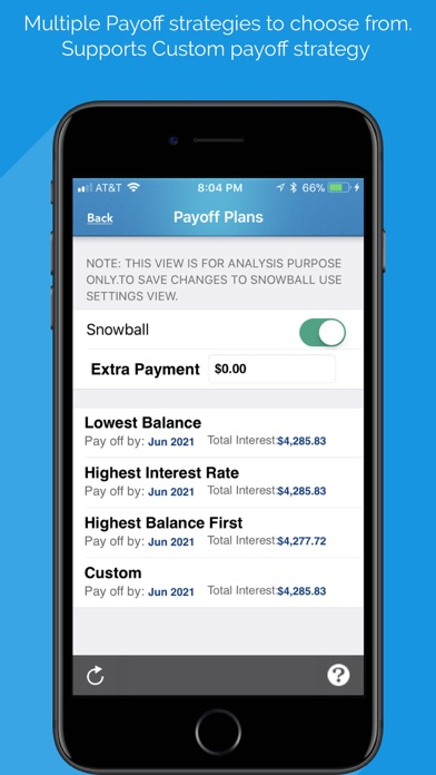 Screenshot for Debt Free - Pay Off your Debt in Netherlands App Store