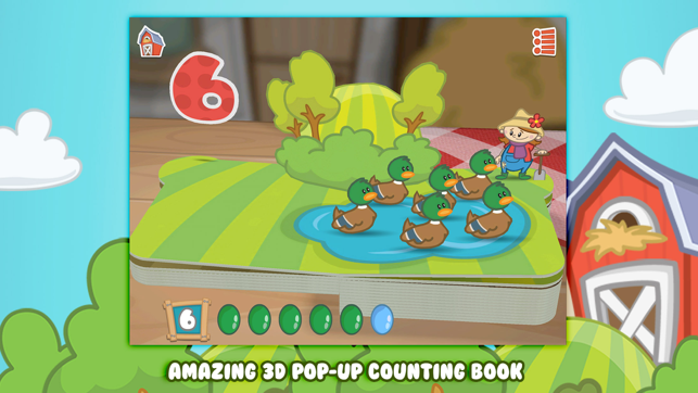 ‎Farm 123 - Learn to count Screenshot