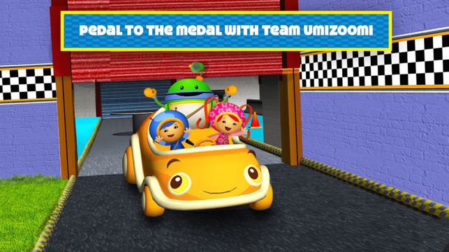 Build Your Own Garage >> Team Umizoomi: Math Racer on the App Store