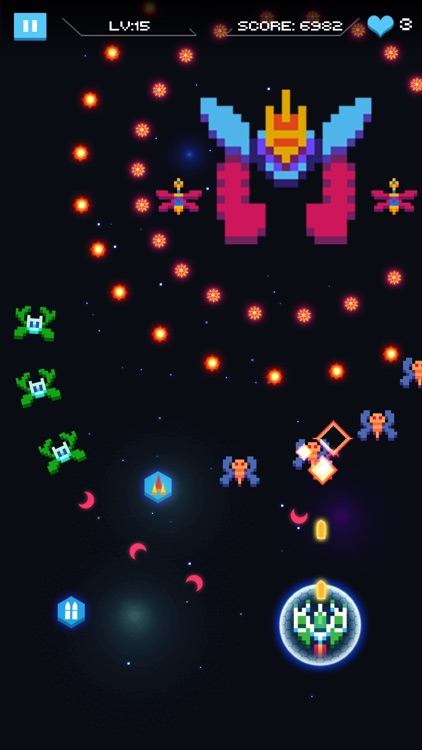 Galaxy Attack - Space Shooter screenshot-3