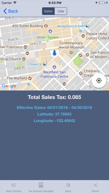 Streamline Sales Tax Rates screenshot-3