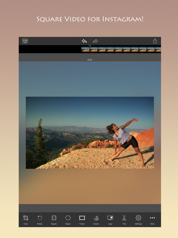 Square Video Editor Screenshots