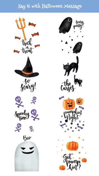 Cute Watercolor Halloween Pack screenshot 3
