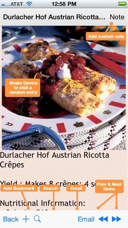 German Cuisine Recipes screenshot-4