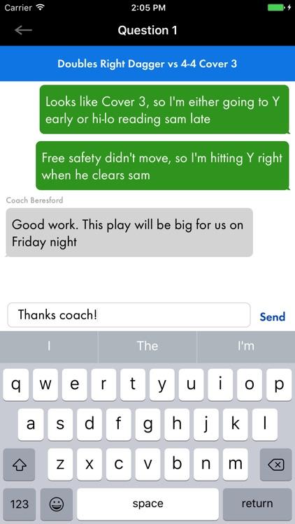MaxRepps Quarterback Training screenshot-4