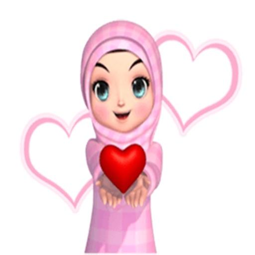 استكرات الفتاة المسلمة