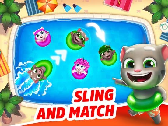 Talking Tom Pool - Puzzle Game screenshot 6