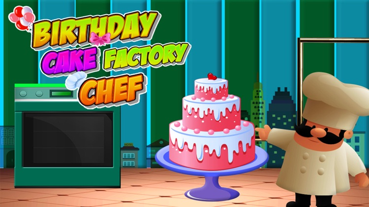 Birthday Cake Factory Chef screenshot-4