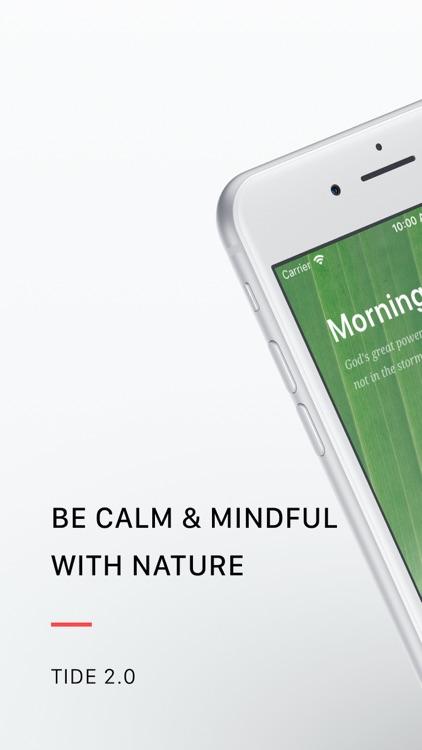 Tide: Sleep. Focus. Meditation