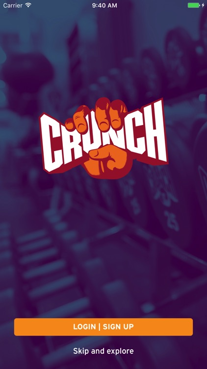 Crunch Fitness screenshot-0