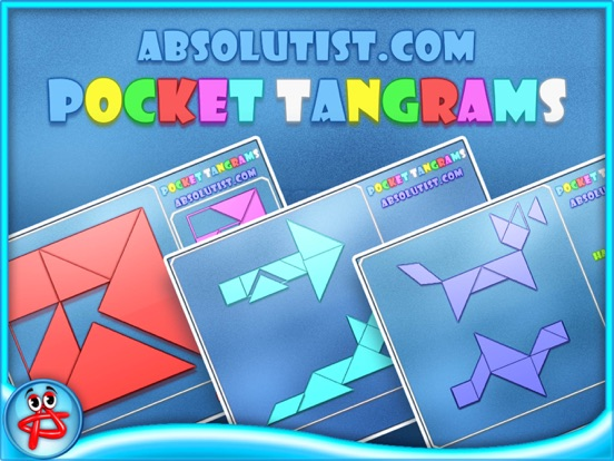 Pocket Tangrams на iPad