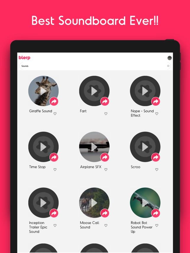 Blerp  Soundboards Audio Clips i App Store