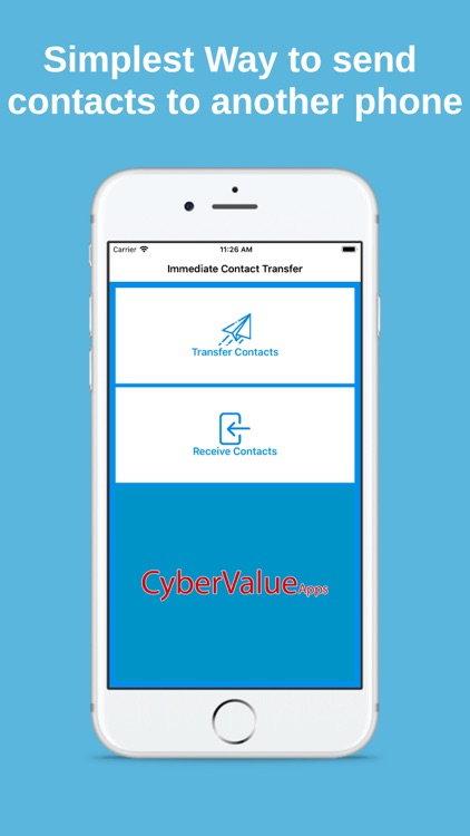 Immediate Contact Transfer Screenshot 0