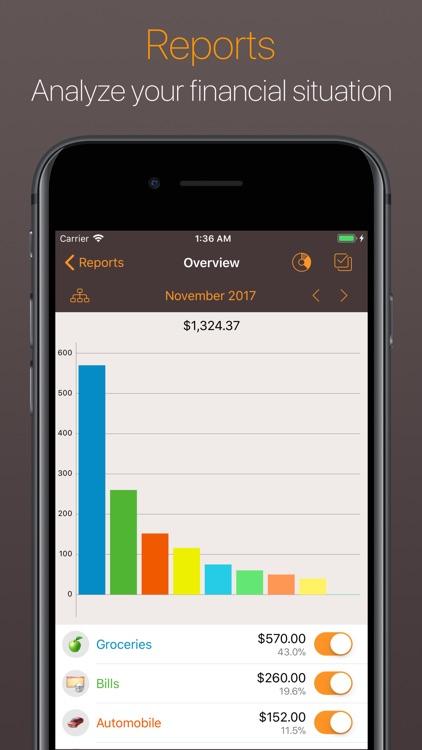 Alzex Finance - Family budget screenshot-4