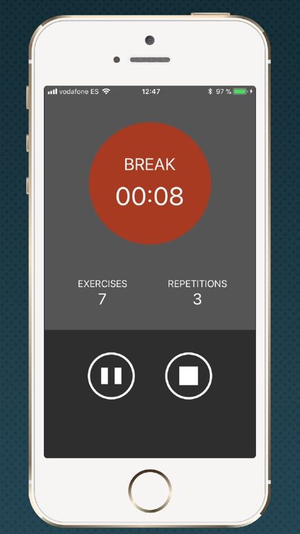 Timer for HIIT training screenshot-3