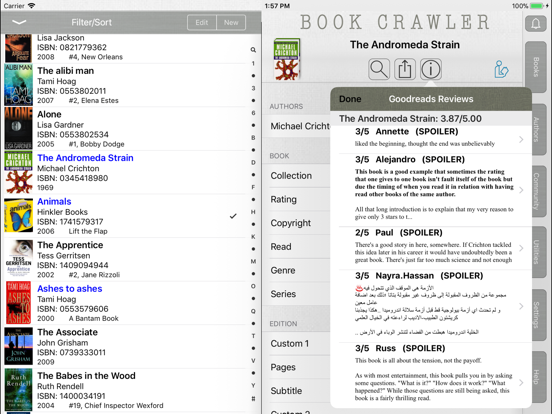 Book Crawler screenshot