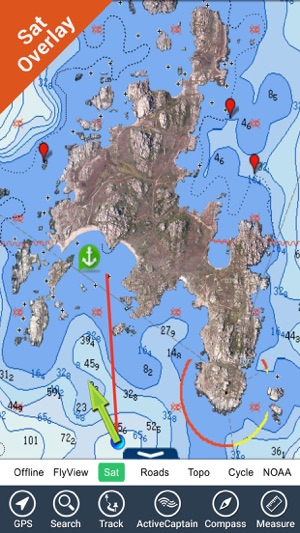Marine ireland gps map offline charts navigator on the app store gumiabroncs Image collections