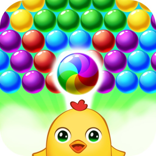 Funny Animal Bubble Pop iOS App