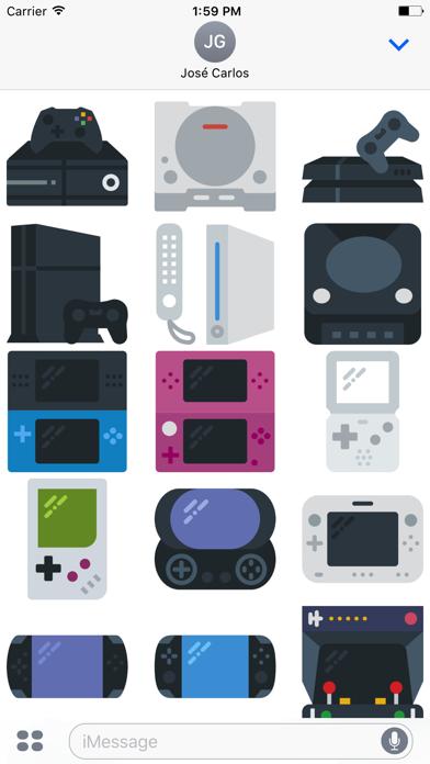 Gamer Sticker Pack for iMessage screenshot one