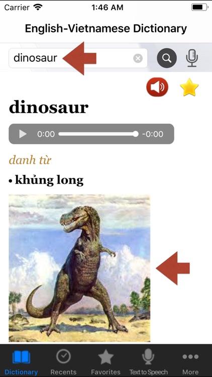 English-Vietnamese Dictionary+ screenshot-4