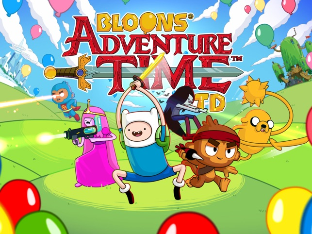 super popular 2f2d4 e037f  Bloons Adventure Time TD on the App Store